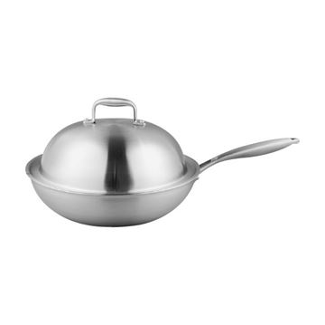 Picture of CUOCO Stainless Steel Wok